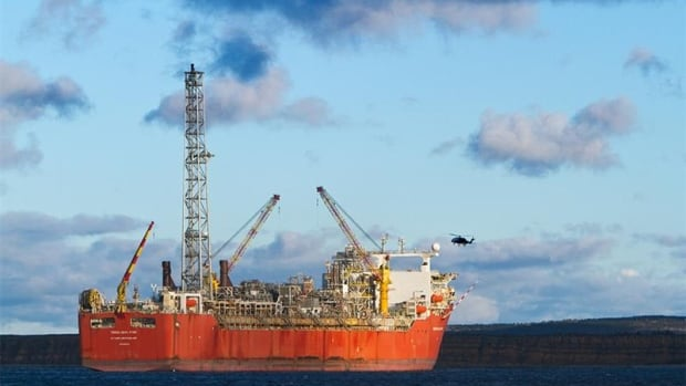 The Terra Nova FPSO, seen here in Conception Bay, was expected to stay in service until 2022.