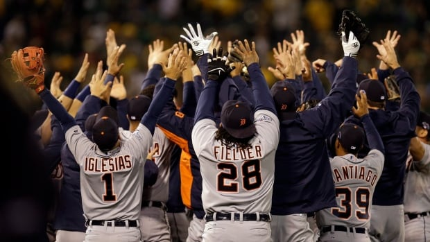 The Detroit Tigers have won three straight Central Division titles and outside of Toronto, no Canadian city can say they are 10 minutes away from Major League Baseball.. (AP Photo/Ben Margot)