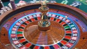 Paragon Vancouver casino - roulette wheel