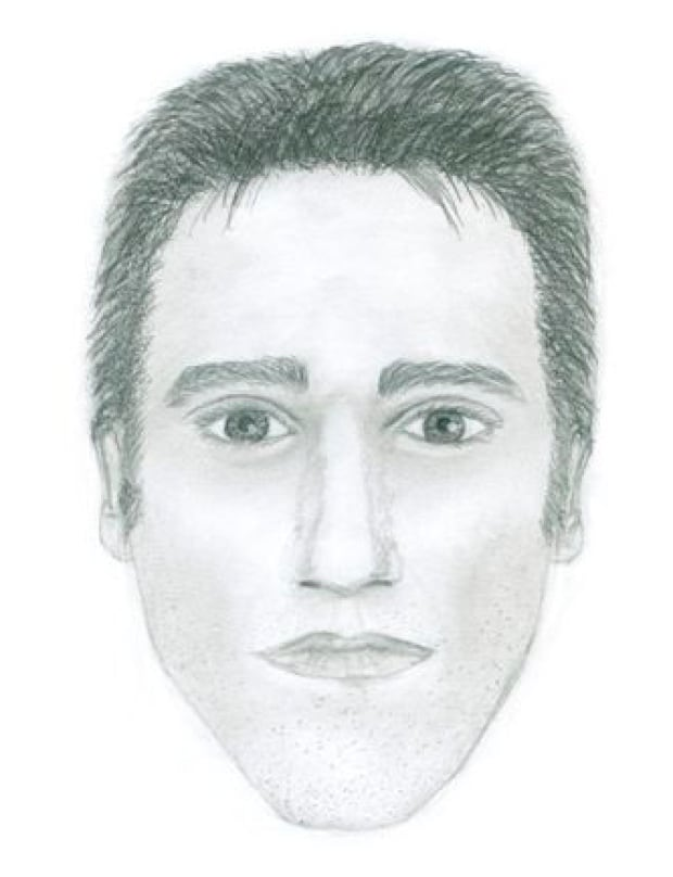 Heron Park sexual assault suspect composite sketch