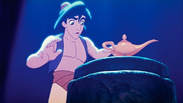 """A stage musical of the 1992 animated film, """"Aladdin"""" is riding a magic carpet to Broadway and the president of Disney Theatrical Productions promises it will be """"a full-length, big song musical with big dance numbers."""""""
