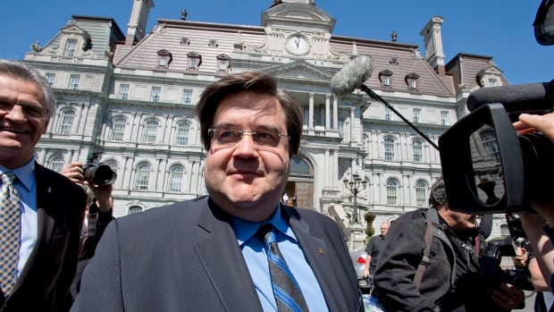 CROP poll respondents said they want fewer councillors at City Hall, and that cleaning up corruption in the municipal domain is their No. 1 priority. (Pictured: Denis Coderre, mayoral candidate for Montreal.)