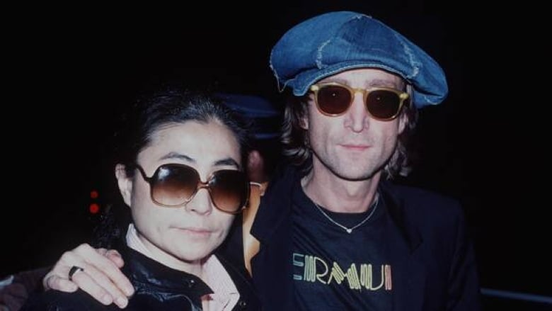 d59a1ffe813 John Lennon and Yoko Ono in New York just months before Lennon s murder on  Dec. 8
