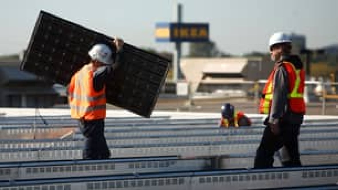Ikea Puts Solar Energy Panels On 3 Ont Stores Cbc News