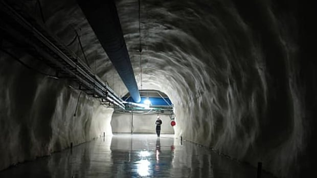 SNOLAB is a physics lab located two kilometres underground near Sudbury, Ont., and exists within Vale's Creighton Mine.
