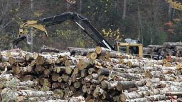 logging-machine