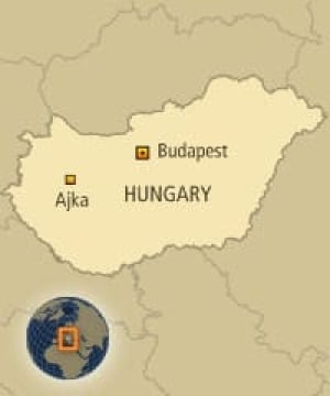 map-hungary-ajka