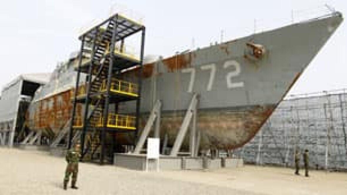 N. Korea scraps S. Korea naval accord
