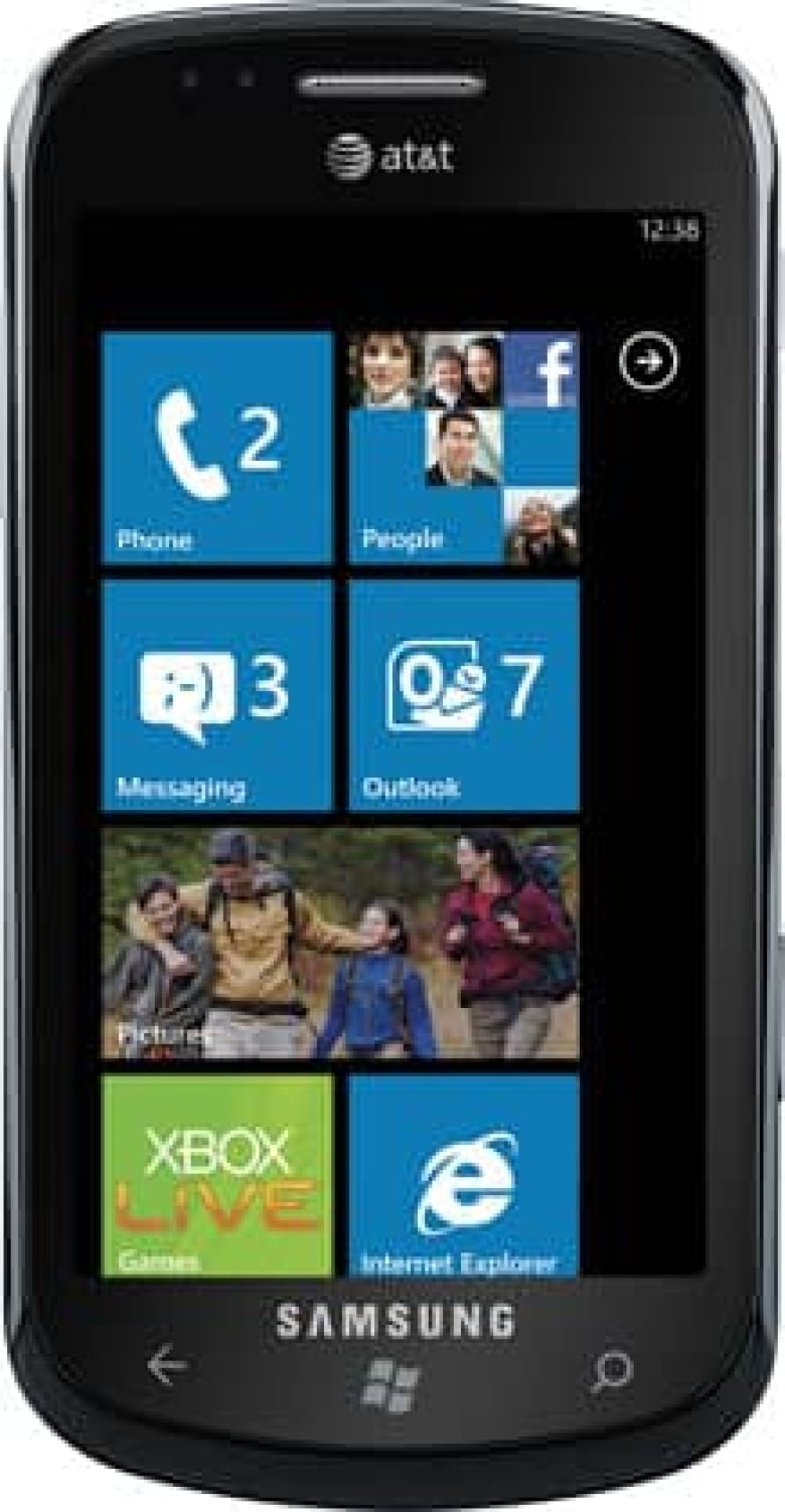 Windows Phone 7 handsets launch in Canada, U S    CBC News