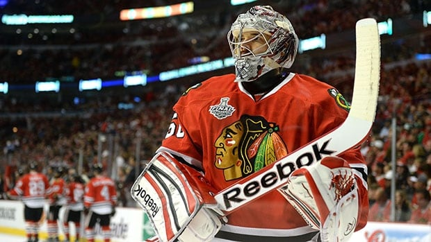 What does Kevin Weekes think of Blackhawks goalie Corey Crawford's play this season? Ask Weekes yourself.