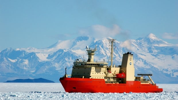 The U.S. research vessel Nathaniel B. Palmer collects in McMurdo Sound, Antarctica, in 2011. Climate monitoring from American Antarctic research stations did not begin on Oct. 3 as scheduled due to the 16-day government shutdown, leaving a permanent gap in the data, Torah Kachur reports.