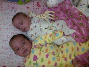 Rachel and Evelyn