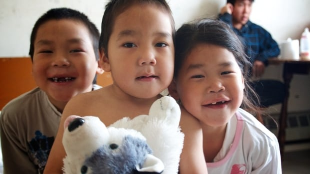 The Aggark kids live in a two-bedroom house,  with a total of 12 people, in Arviat, Nunavut.