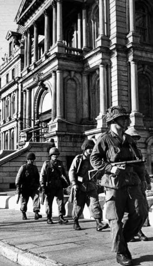"october crisis The october crisis in quebec the following article, originally titled ""abolish the  war measures act"" is reprinted from sc no 45, november/december 1980."