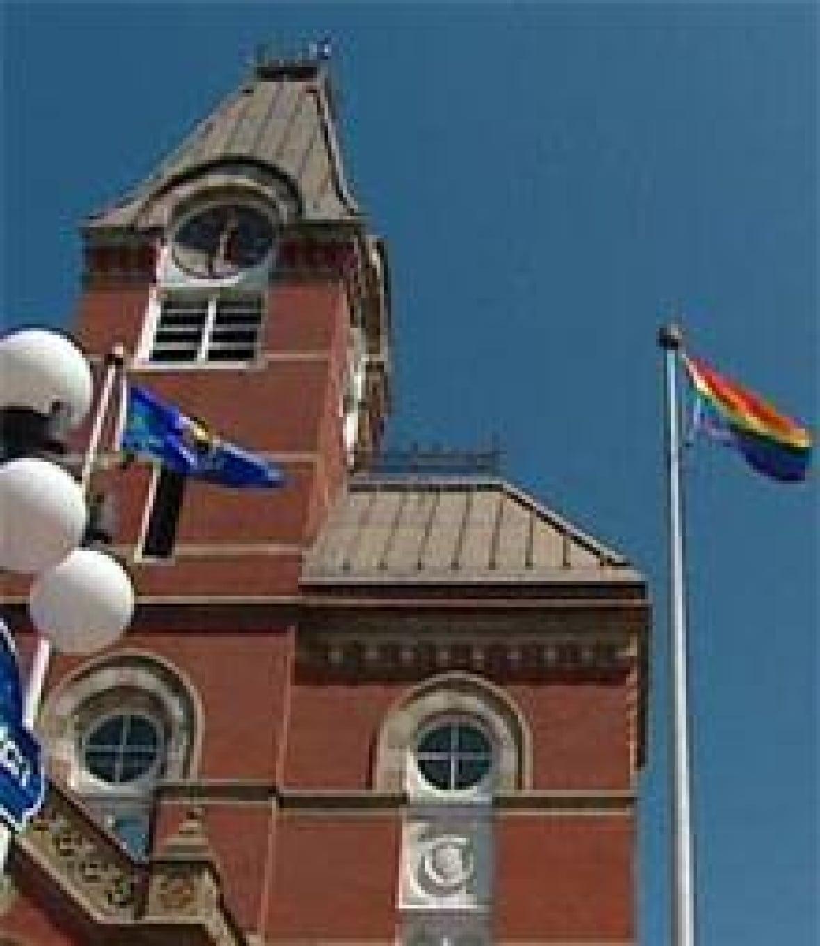 pride fredericton parade Cbc video gay