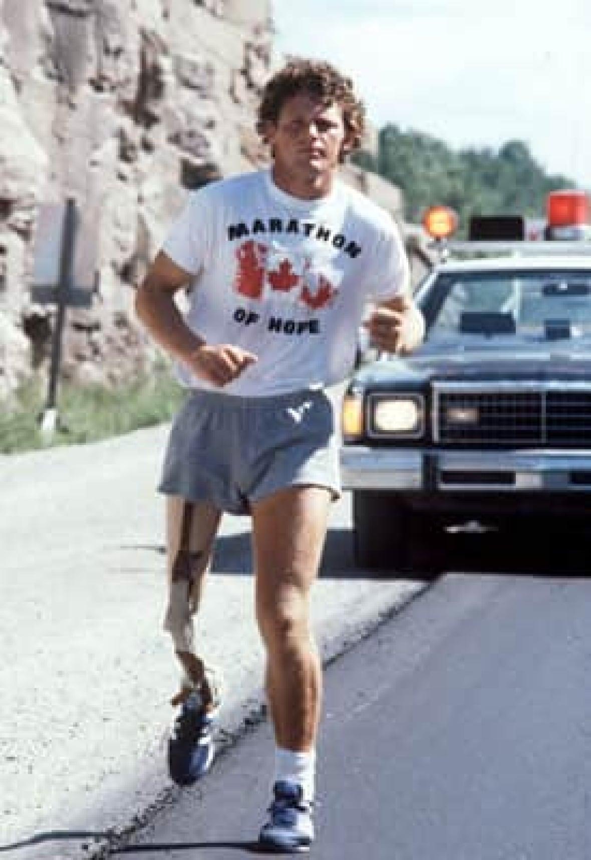 Terry Fox i Maraton nade