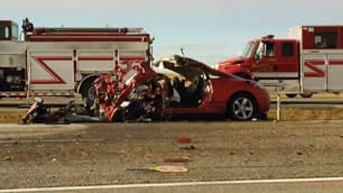 Airdrie Car Crash