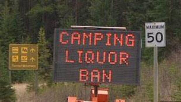 A temporary liquor ban applies at Saskatchewan provincial parks this weekend.