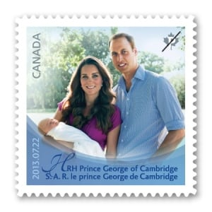 Royal Baby Stamp 20131017