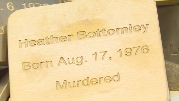 Murdered and missing women plaque