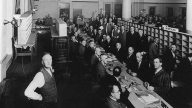 Counting ballots was a lot of work in the 1929 civic election in November when proportional representation was still the system used in Calgary. Voters cast aldermanic ballots for the city at large and not for a local ward alderman. It first started in the 1917 election and lasted until 1960.