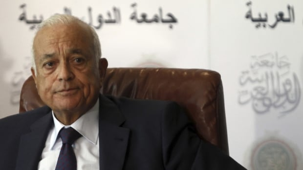 "Arab League chief Nabil el-Araby said ""many difficulties"" face the proposed Geneva conference on Syria."
