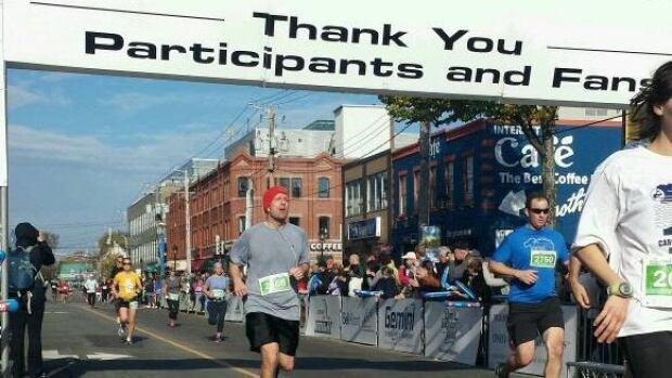 Runners cross the line in Charlottetown