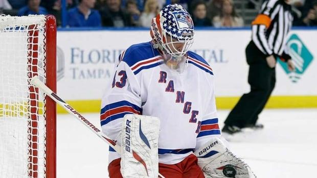 Goaltender Martin Biron had five 20-win seasons in the National Hockey League.