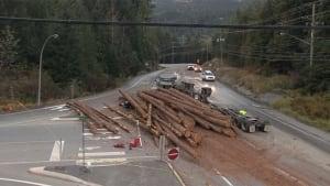 Whistler, B.C. crash scene