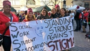 Social workers against stigma