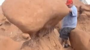 Goblin Park Boy Scout boulder push