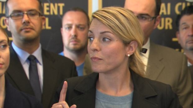 Mélanie Joly said that because her campaign team is a small organization with limited resources, she could not have known that Bovet was under investigation earlier.