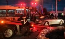 Rapibus crash Breadner Street Hulll