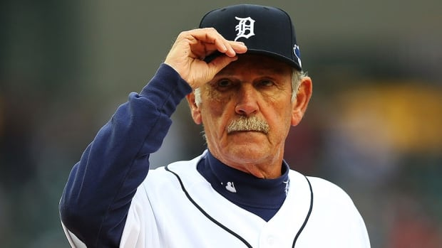 Detroit won the AL Central division three years in a row and two AL pennants under manager Jim Leyland, who spent eight seasons with the Tigers.