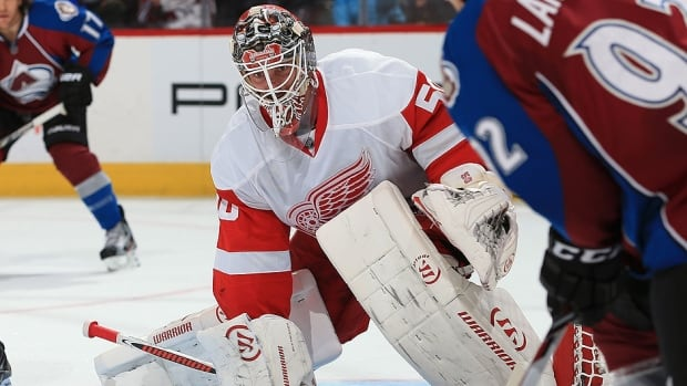 Red Wings goalie Jonas Gustavsson posted a 3-0-0 record over the week with a 1.67 goals-against average and .953 save percentage.