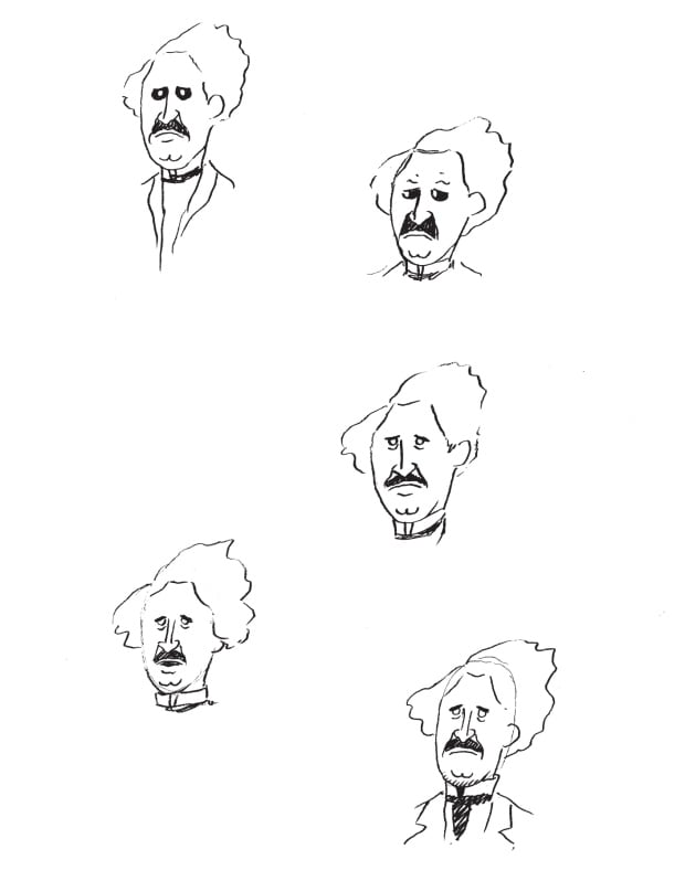 Louis Riel Sketches