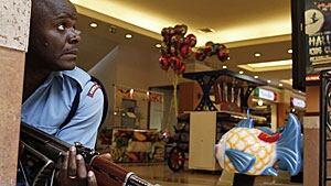 Kenya mall attack police
