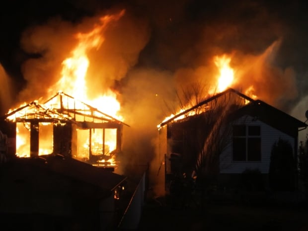 Mill Woods fire destroys two homes