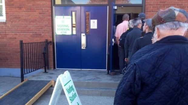 City officials say voter turnout has been steady at polls across Calgary.