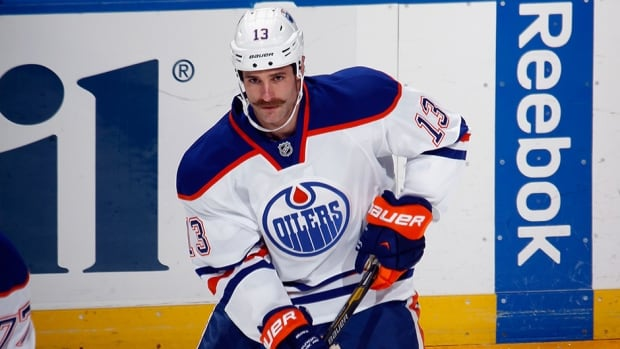 Mike Brown had one goal in 35 games with the Edmonton Oilers.