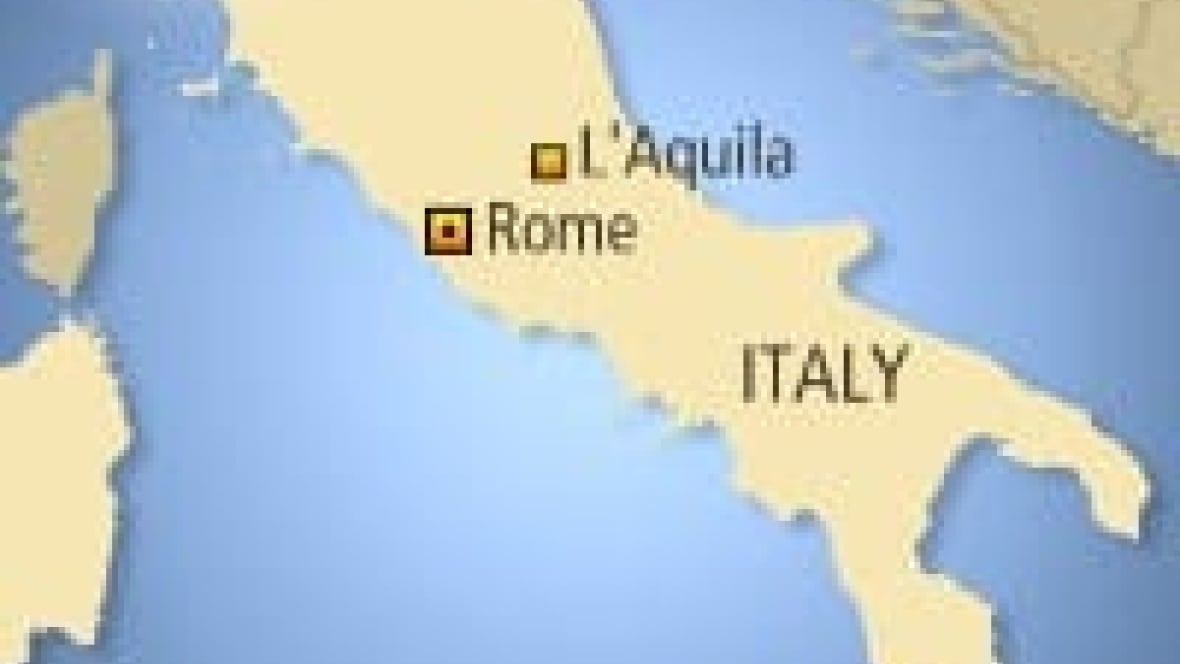 Aquila Italy Map.Italy Earthquake Death Toll Rises To 283 Cbc News