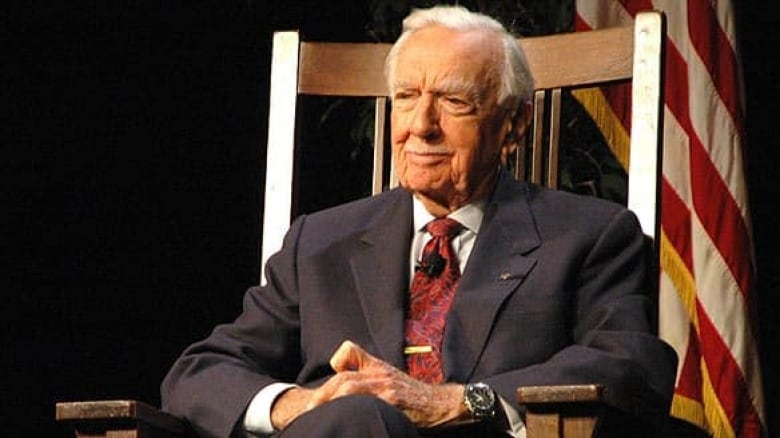 Cronkite Funeral Remembers Him As Witness To History Cbc News