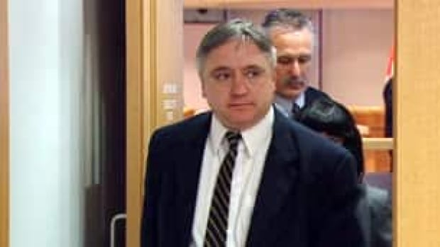 Pierre Lemaitre leaving the Braidwood inquiry, where he testified in 2009.