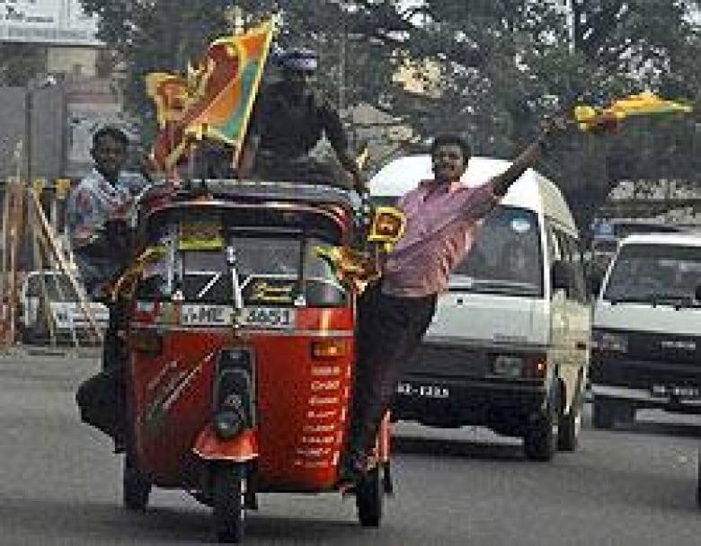 Tamilsk gerilla havde blockad