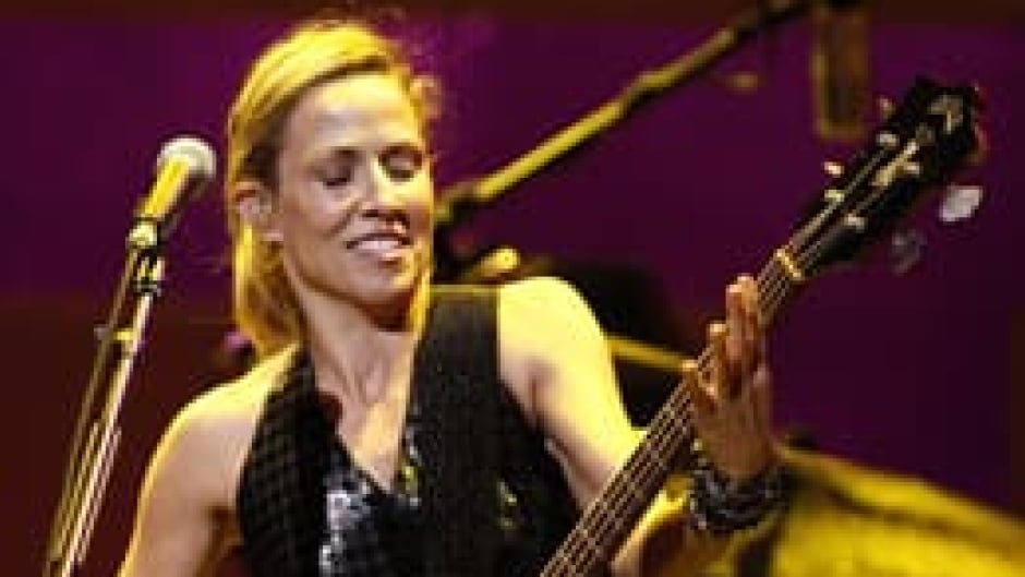 Sheryl Crow, shown performing in Los Angeles,was one of the performers at the all-female music festival Lilith Fair.