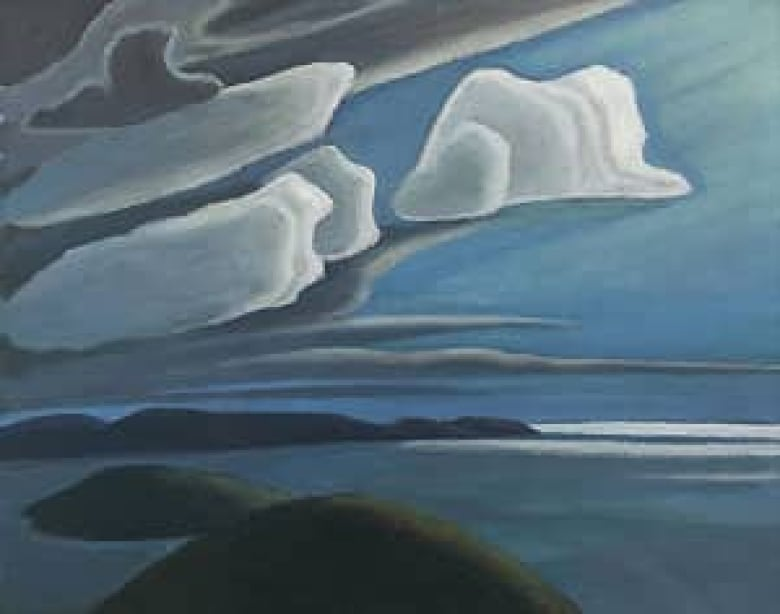 Harriss Lake Superior Painting Fetches K CBC News - Superior painting