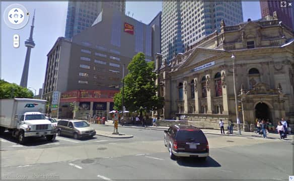 Google Street View Goes Live In Canadian Cities Technology: Google Street Maps Montreal Canada At Usa Maps