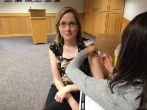 Thunder Bay flu shot