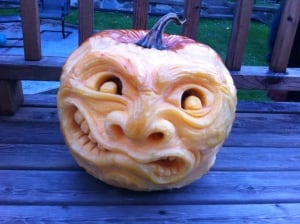 Carved Pumpkin 1