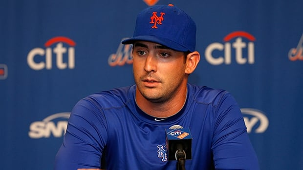 Pitcher Matt Harvey went 9-5 with a 2.27 ERA and 191 strikeouts in 178 1-3